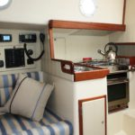 Crabber 26 galley