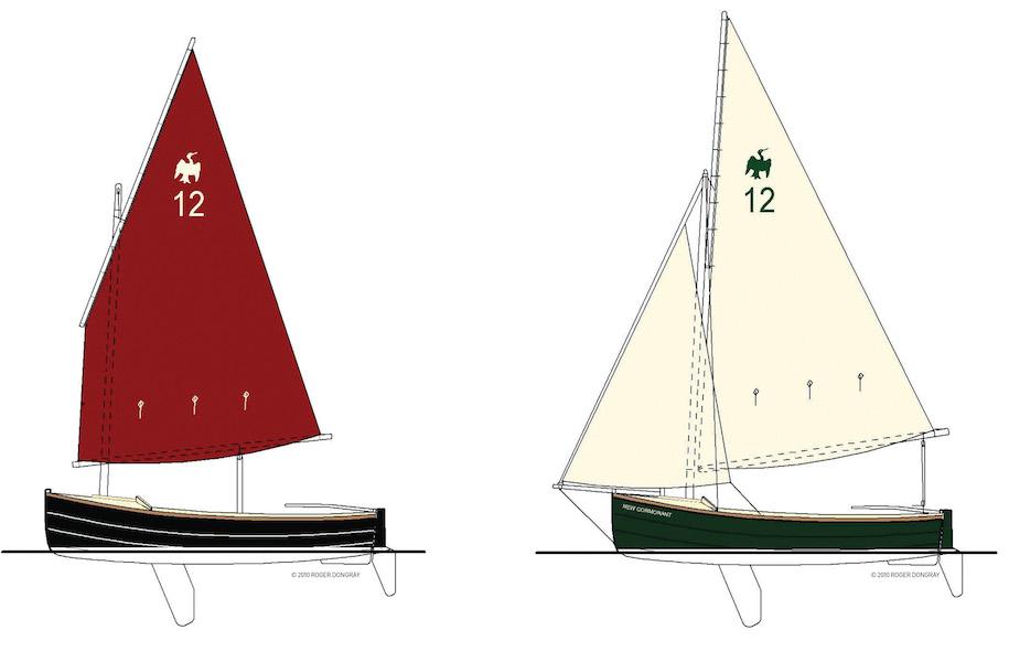 Cormorant-sail-plan