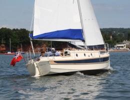 Adventure 26 under sail