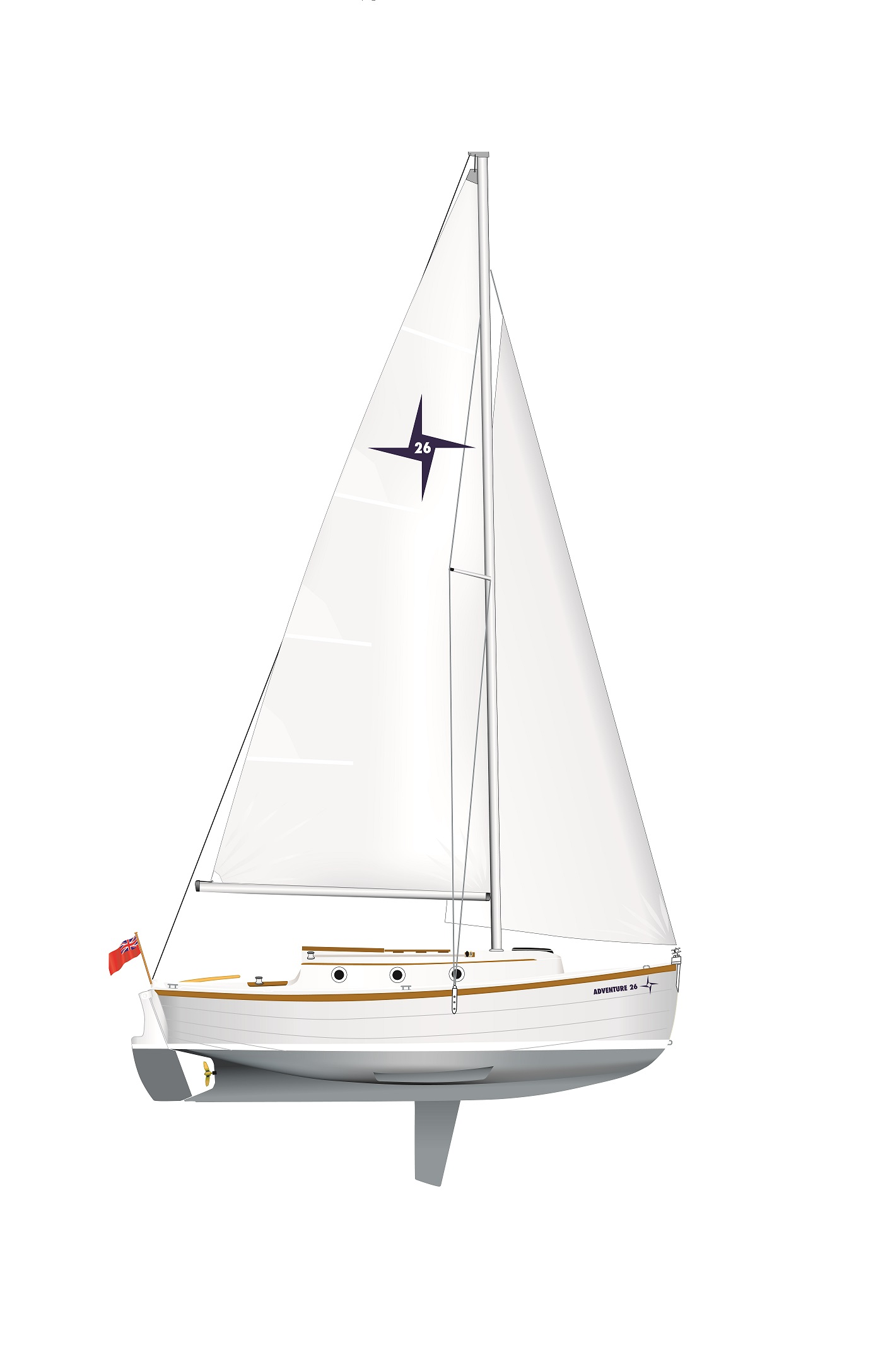 adventure26-sail-plan