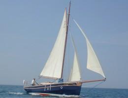 Pilot Cutter 30 sailing