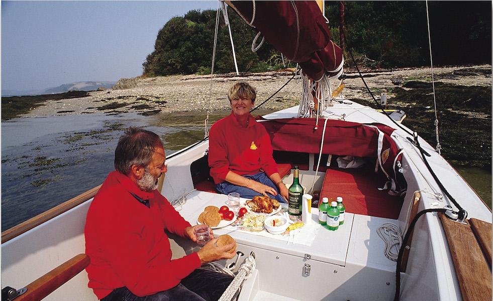 shrimper17-Mittagessen-an Bord