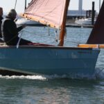 Shrimper 17 sailing