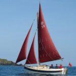 Crabber 22 sailing