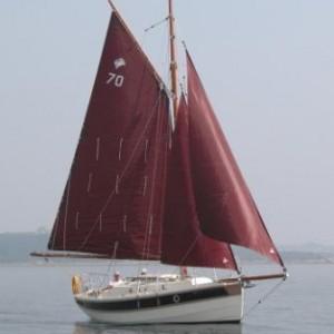 C24 jib staysail and mainsail