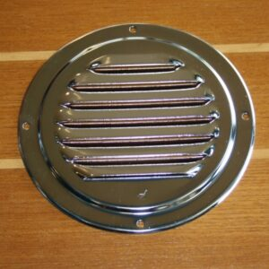 Louvered vent round 1- 5 inch