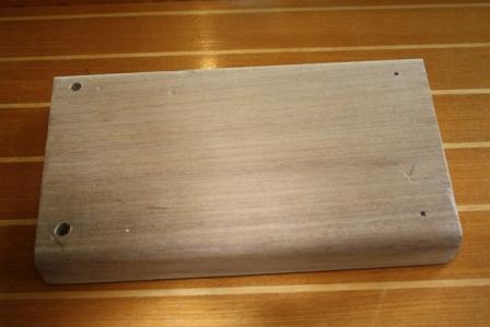 Shrimper 19 outboard bracket