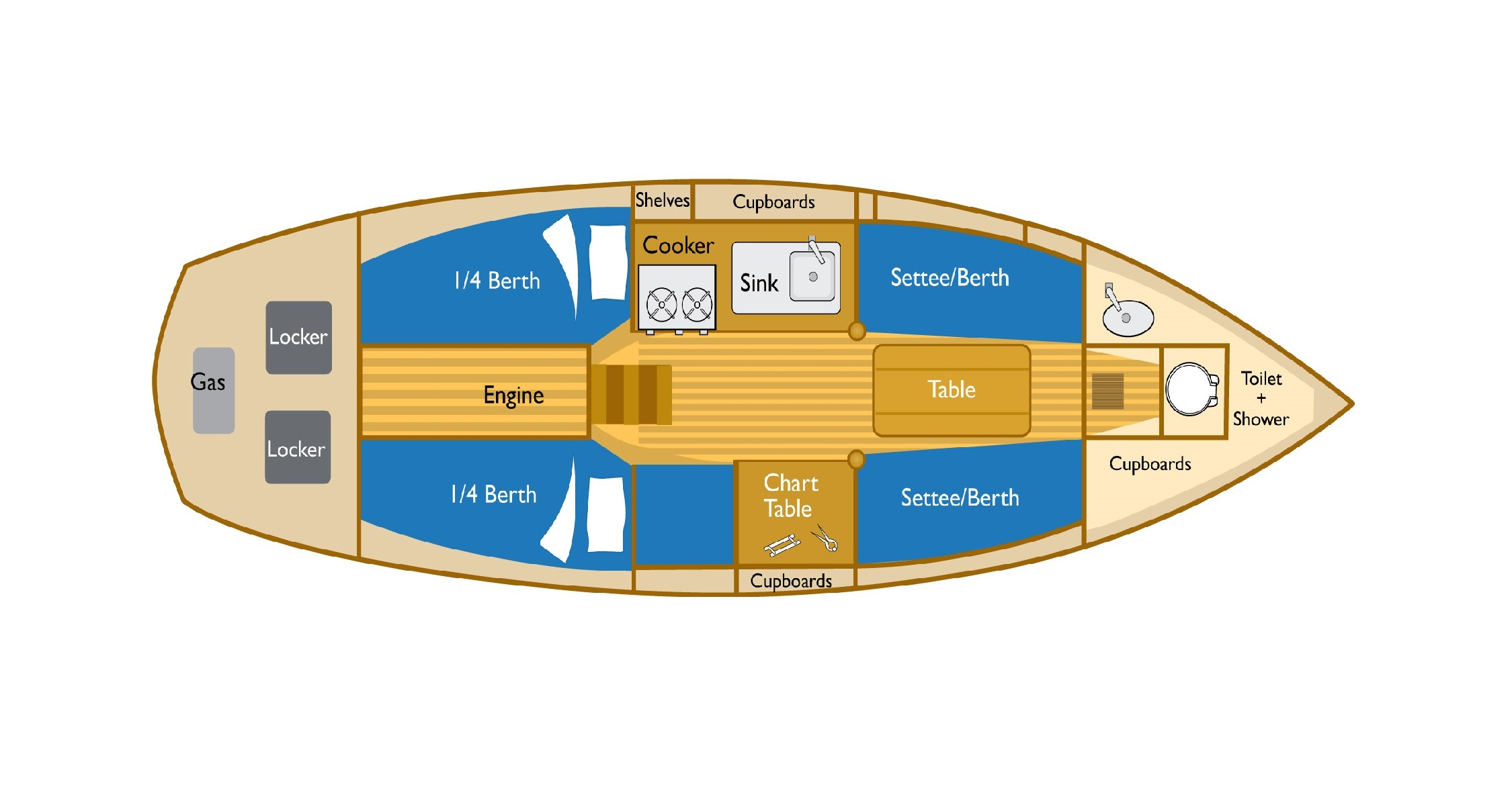 pilotcutter30-interior-plan-4berth