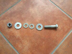 Shrimper 19 Centreplate pivot bolt
