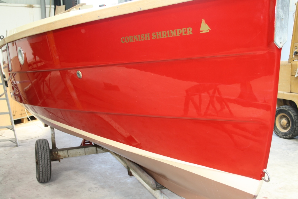 Shrimper 19 refurb