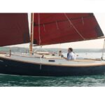 shrimper 21 sailing