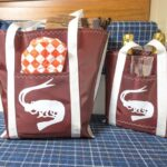 Shrimper tote bags
