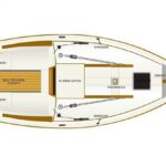 Shrimper 21 deck plan drawing