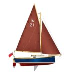 Shrimper 21 sail plan