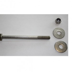 Shrimper tabernacle bolt with nut and 2 washers