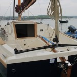 Shrimper 21 from stern
