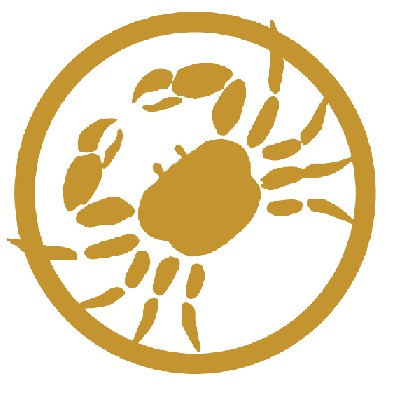 Crab Gold line logo copy