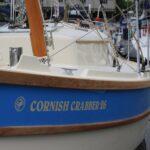 Crabber 26 dans la marina