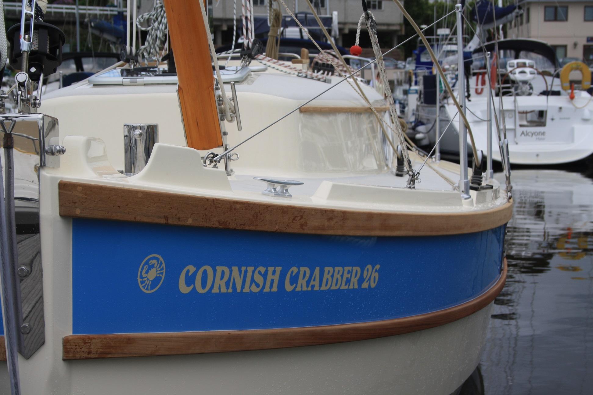 Crabber 26 in marina