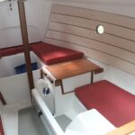 modern 4 berth interior