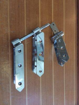 Shrimper 19 rudder hangings