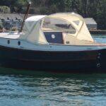 Clam 21 stern