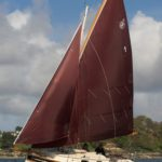 Crabber 24 Mkv full sail
