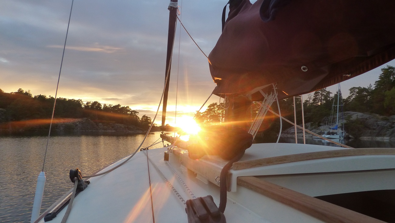 sunset-bow