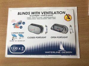 Portlight blind